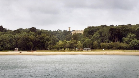 Queen Victoria's private beach on the Isle of Wight