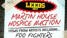 Martin House Hospice Charity Auction poster