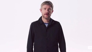 Martin Freeman talks about the choice between the Tories and Labour.