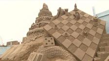 Sand sculpture event celebrates 10th anniversary