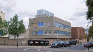 The outside of Twickenham Film Studios in St. Margarets