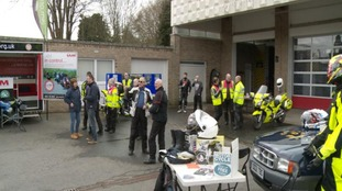 Bikers attend special safety training open day