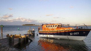 Wells lifeboat.
