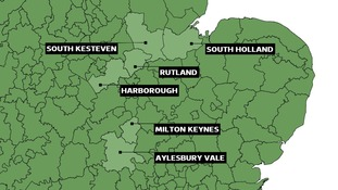 56 councils across the Anglia region have elections on Thursday 7 May.