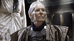 Legendary actor Peter O'Toole pictured in his final film.