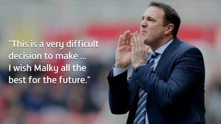 Wigan Athletic sack manager Malky Mackay after 2-0 home defeat
