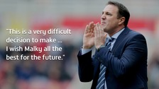 Wigan Athletic have fired manager Malky Mackay.