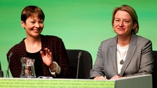 Candidate Caroline Lucas and Green Party leader Natalie Bennett will be in Brighton today