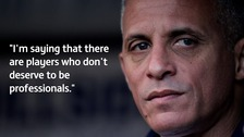 Keith Curle had strong words about his team's performance.