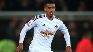 Swansea City's Kyle Naughton