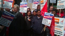 Remploy Protest