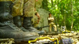 Inside Belize: British Army soldiers put through their paces