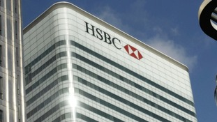 HSBC building in Canary Wharf