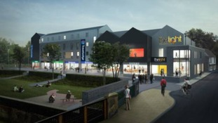Artists impression of the new complex