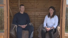 Rob and Sally used meditation to recover from the trauma of the attack.