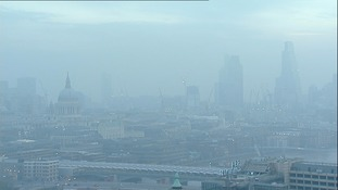 Smog to hit central London
