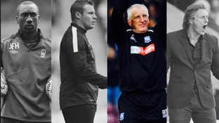 Ronnie Moore is up against Jimmy Floyd Hasselbaink, David Flitcroft and Gareth Ainsworth for the March manager of the month award.
