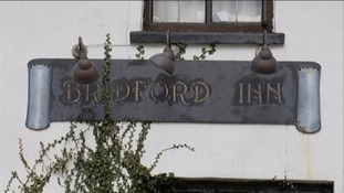 The Bridford Inn was named as one of the best in Britain