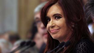 Argentinian Prime Minister Cristina Fernandez de Kirchner