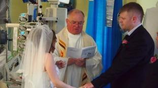 Hospital wedding