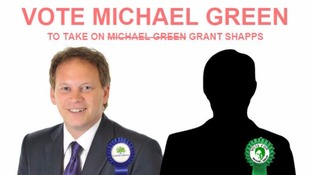 Mystery candidate 'Michael Green' standing against Grant Shapps