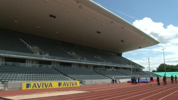1000 Birmingham school children will get to watch the US Track & Field team today