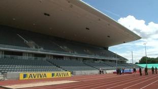 1000 Birmingham school children will get to watch the US Track & Field team today