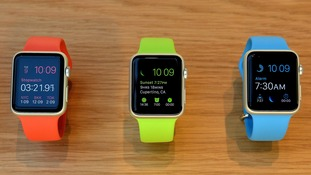 Apple Watch unveiled in UK stores