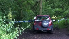 The family travelled to Pontesbury in a Landrover Freelander near the scene.
