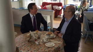 David Cameron was quickly put right on how to have a Devonshire cream tea