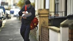 Royal Mail postal worker