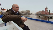 Adrian takes to the waters of Cardiff Bay on board a local boat