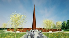 Artist's impression of the spire
