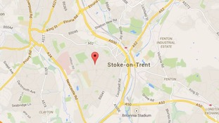 Detectives investigating the murder in Doncaster Lane, Stoke-on-Trent.