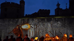 The Games of Thrones series 5 premiere took place at the Tower of London