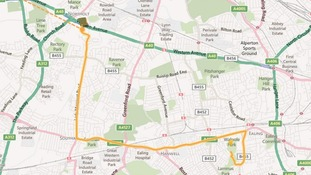 Ealing Torch Relay Route: Day 67.