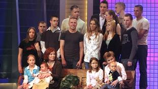 Annegret Raunigk family