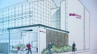 Artist's impression of the Studio School in Southampton