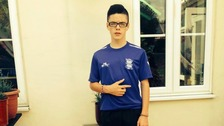 Logan Kehoe was a pupil at Bishop Challoner Catholic College in Kings Heath