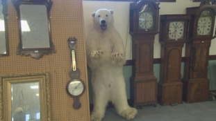 Have you clocked the unusual auction item in Penrith?