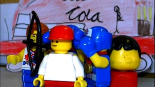 Torch inspires Lego Relay