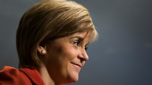 Nicola Sturgeon will appear on The Agenda with ITV News' Tom Bradby.