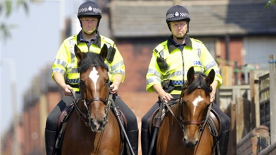 West Yorkshire Mounted Police