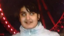 12 year old Evelin Mezei who has been missing since Monday evening