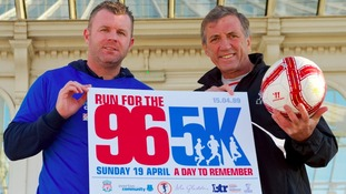 Hillsborough anniversary run gets big name backing