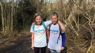 Best friends India Brodie and Lily Kirkland to walk 33km to raise money for classmate with Duchenne Muscular Dystrophy