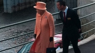 The Queen on Teesside