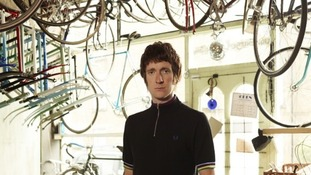 Bradley Wiggins has collaborated with British fashion brand Fred Perry