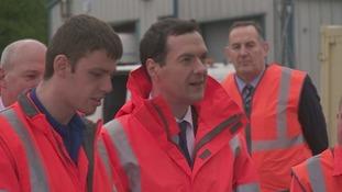George Osborne visits Carlisle