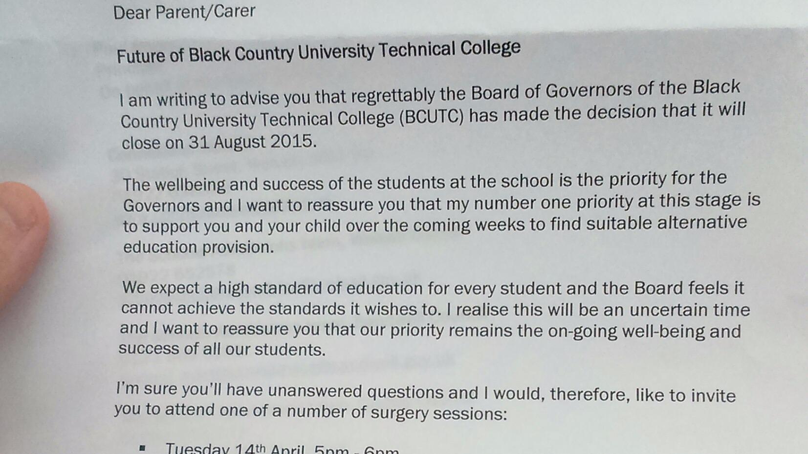 black country utc closure hundreds of pupils will need to black country utc closure hundreds of pupils will need to another school central news